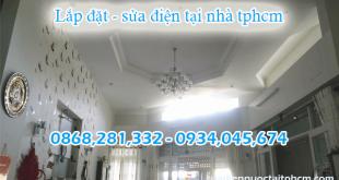 Sửa điện tại nhà quận 6 giá rẻ